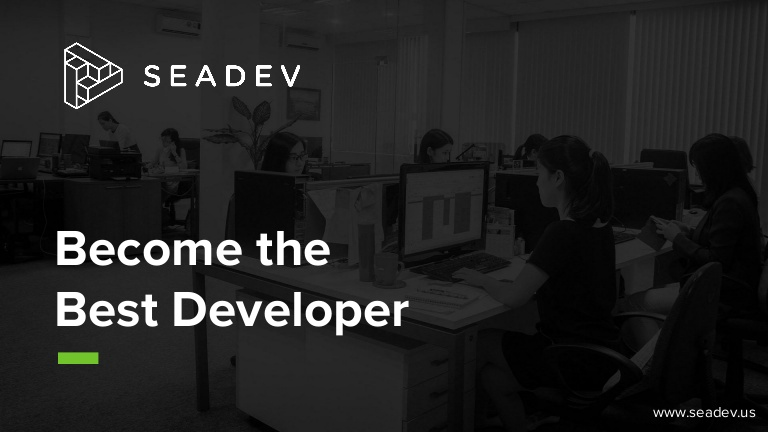 [DevDay 2017] One of the most overlooked but absolutely necessary skills to becoming the best developer - Speaker: James Price - President & CEO at Seadev