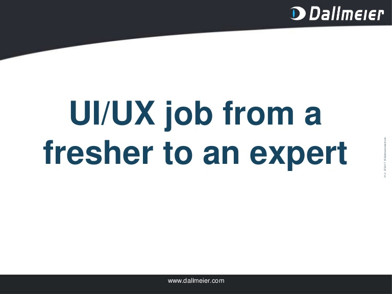 [DevDay2019] UI/UX job from a fresher to an expert - By Le Phan Ngoc Bich, Software Developer at Dallmeier Vietnam